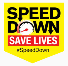 Slow down for National Road Safety Week